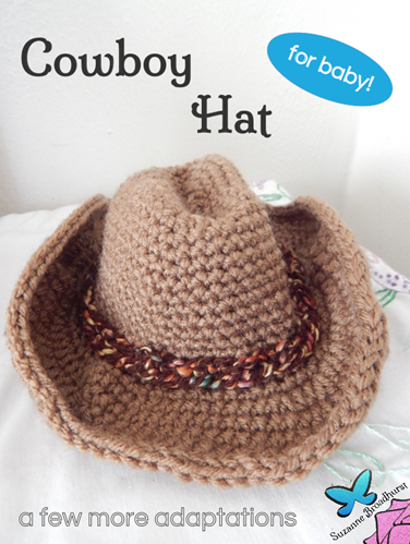 Brown Baby Cowboy Hat for Baby
