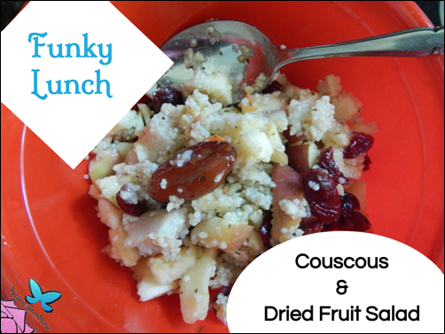 Funky Lunch_Couscous and Dried Fruit Salad