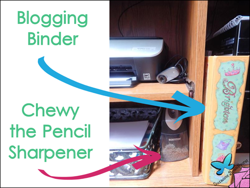 Chewy and Blogging Binder