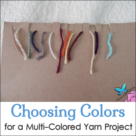 Choosing Yarn Colors for a Multi-Colored Project