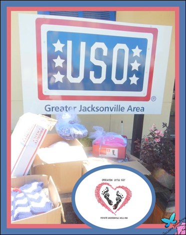 Operation Little Feet at the USO