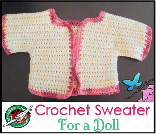 Crochet Sweater for a Doll