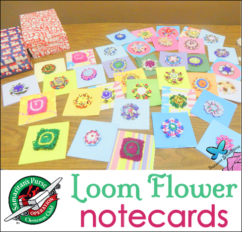 Loom Flower Notecards
