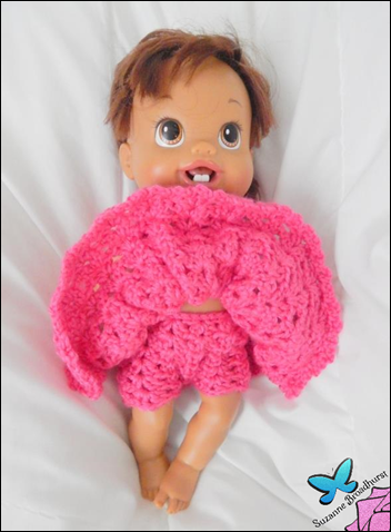 Pretty Pink Dress and Bloomers_Doll Makeover