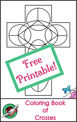 Free Printable Coloring Book of Crosses_OperationChristmasChild