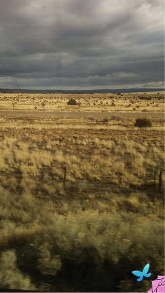 Scenery from Amtrak on Southwest Chief
